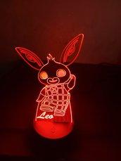 Lampada Led 3D Personalizzata