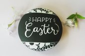"""Gesso """"Happy Easter"""""""