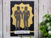 Partecipazione Matrimonio Gay ( Gay Wedding Invitation )