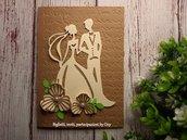 Partecipazioneinvito per Matrimonio . sposi.