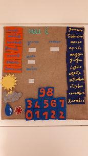 Calendari didattico bambini