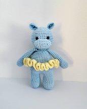 Doll ippopotamo amigurumi