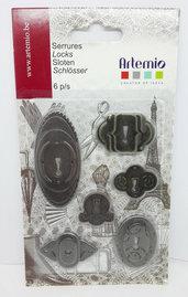Confezione 6 serrature Artemio