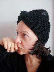 Fascia per capelli in lana