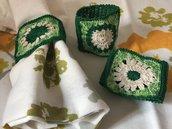 """Portatovaglioli """"Primavera"""" in cotone"""