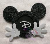 Gadget chiudifesta tema topolino/Minnie-ricordino festa topolino