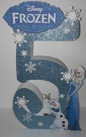 Numero 3d Frozen