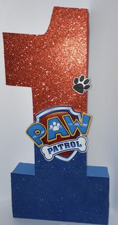 Numero 3d paw patrol