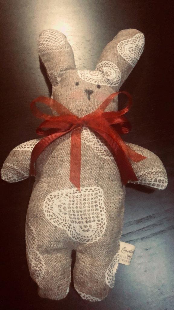 Coniglietto handmade morbidoso