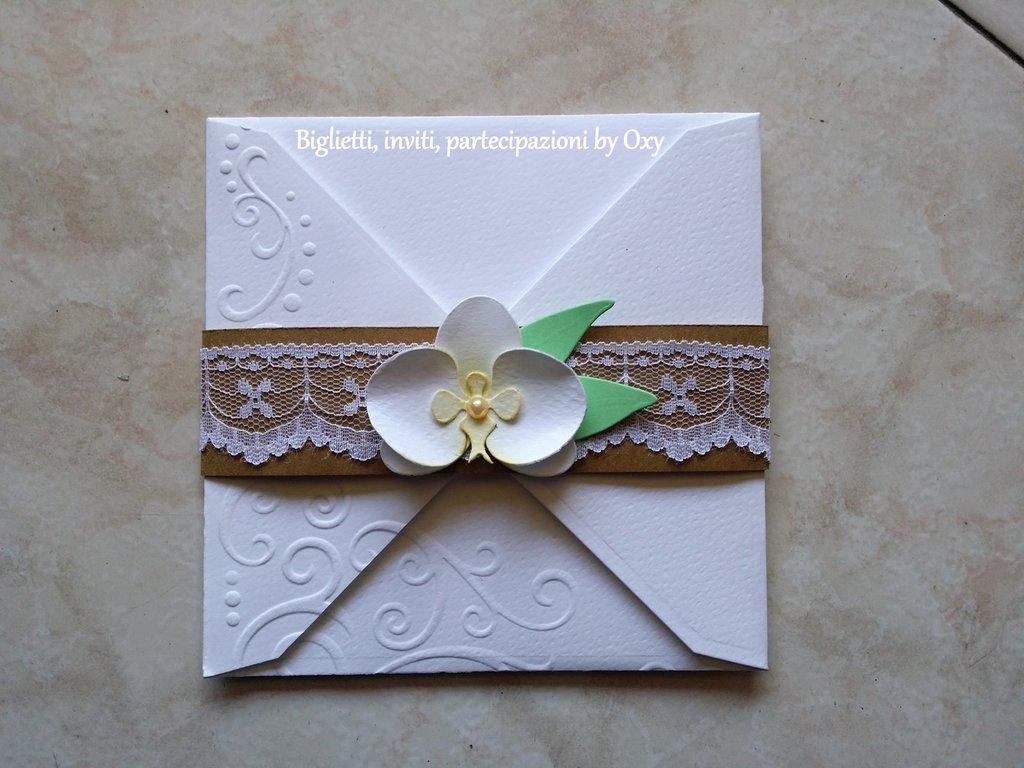 Partecipazione - Orchidea