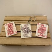 Collana o Portachiavi Carte da gioco