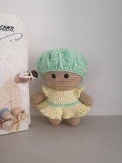 Baby bambola amigurumi