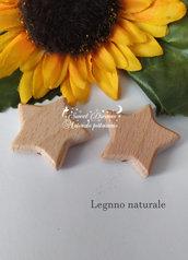 Inserto in legno naturale *STELLA*