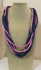Collana sciarpa estate  in cotone