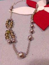Collana lunga perle