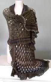 Scialle /Stola in lana  Merino