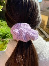Scrunchies Basic Lilla