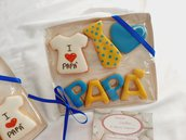 festa del papà  idea regalo biscotti decorati  regalo originale