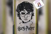 Harry Potter libro scultura