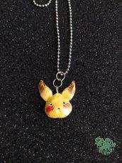 Ciondolo Pikachu in fimo