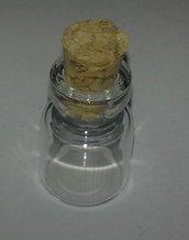 Bottiglietta in vetro con tappo in sughero - 2ml