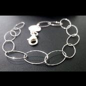 Bracciale da donna in argento 925 fatto a mano B57