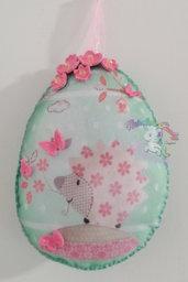Decorazione primavera-fuoriporta Pasqua uovo