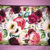 pochette ,  cotone floreale