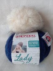 Gomitolo lana Lady Lamè Mondial - colore 585
