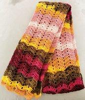 Sciarpa autunnale multicolor