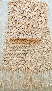 Sciarpa elegante - rosa antico