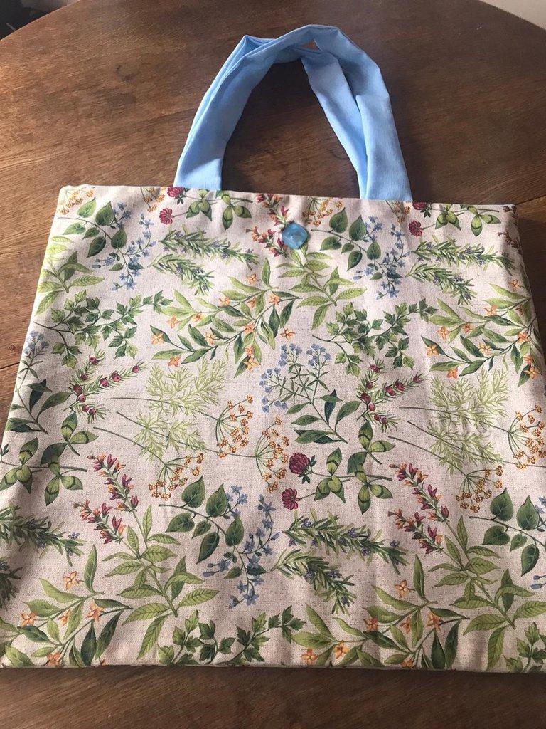 Shoppingbag in tessuto
