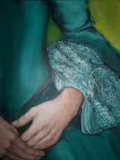 Quadro su tela dipinto a mano - Madame