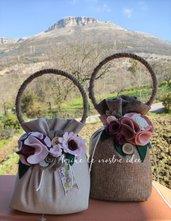 Fermaporta o finestre romantico e floreale