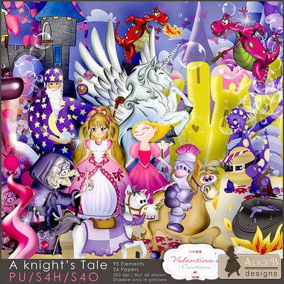 A Knight's Tale {scrapkit}