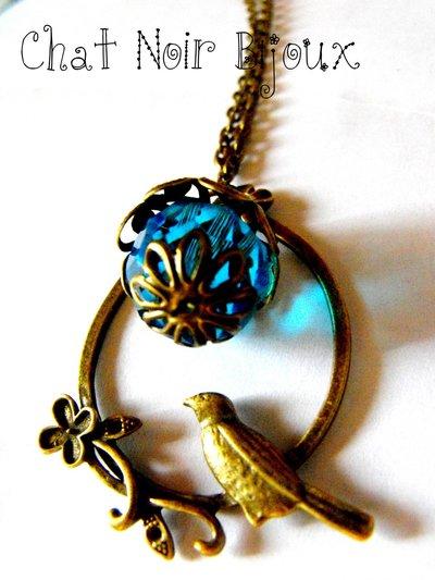 Collana Sole Azzurro