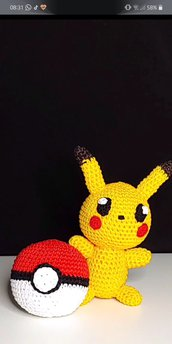 Coppia Pokeball + Pikachu