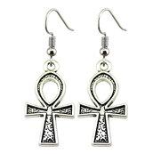 Orecchini pendenti croce egizia Ankh croce della vita