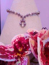 Girocollo perle Swarovski