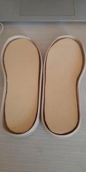 suola bimbo/a modello daniela beige n 23 cm 17