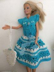 Vestito uncinetto Barbie
