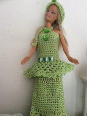 Abito per bambola barbie