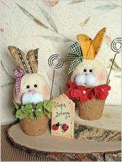 Cartamodello coniglietti Bruccolini