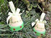 Campanelle verdi Buona Pasqua