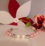 Bracciale perle Swarovski