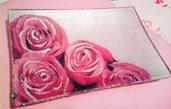 Svuotatasche con rose