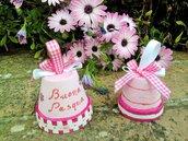 Campanelle rosa Buona Pasqua