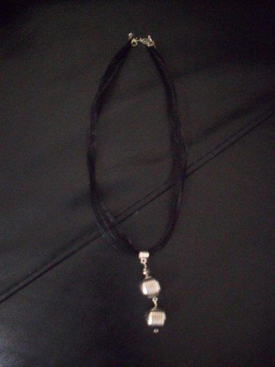 collana con ciondoli in silver plated