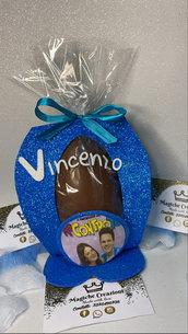 Uovo di Pasqua personalizzato