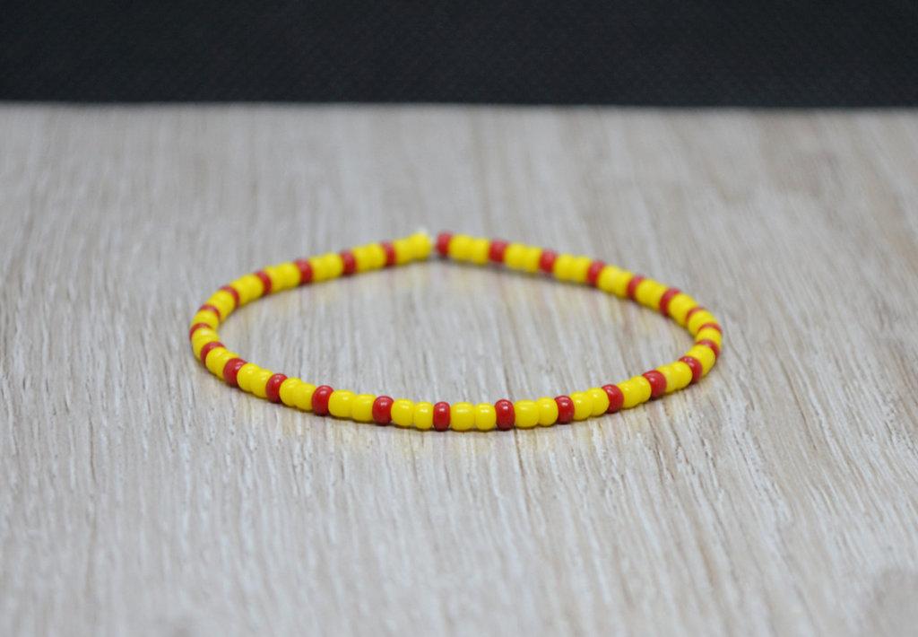 bracciale elastico perline nazione, bracciale spagna, bracciale macedonia, bracciale vietnam
